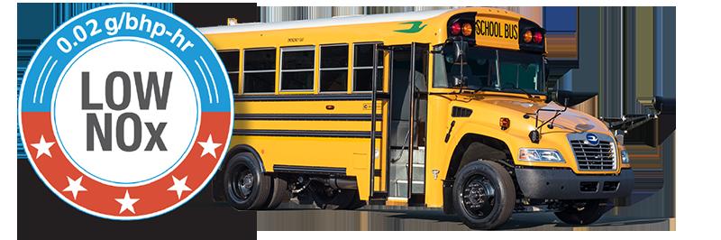 Blue Bird 4th Gen Vision Propane Bus