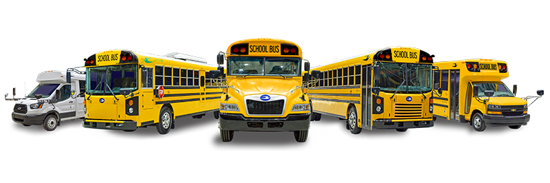 Special Needs Bus Options - Blue Bird